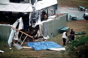 کشته شدن دو نفر در حمله تروریستی به دهکده المپیک
