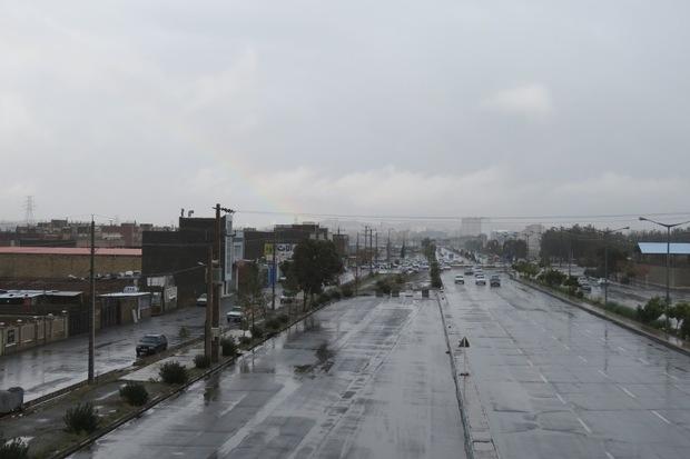 فعالیت سامانه بارشی در خراسان جنوبی تشدید می شود
