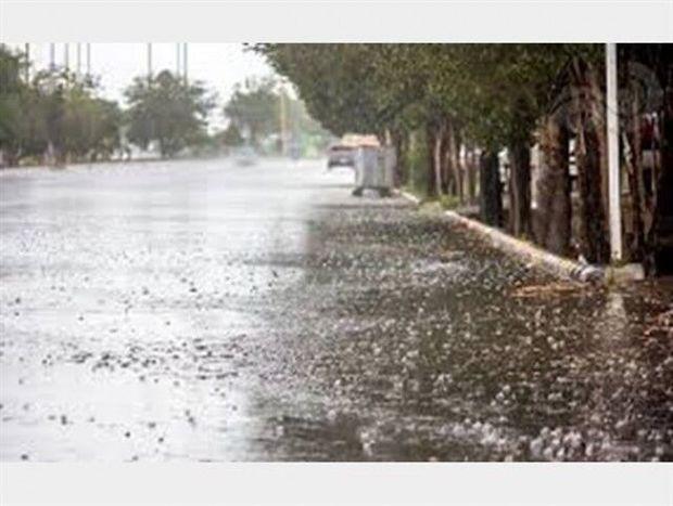 بارندگی و وزش باد شدید در گیلان تا فردا