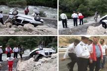 کشته شدن 2 نفر در سقوط خودرو به رودخانه هراز   جسد جوان 19 ساله پیدا شد