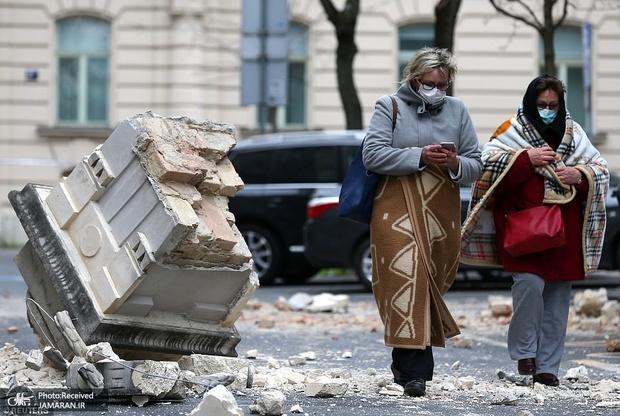 یک کودک تنها کشته زلزله شدید کرواسی+ تصاویر