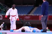 المپیک 2020 توکیو| فحاشی سعودیها به داور فینال کاراته+ عکس