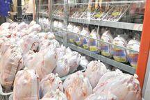 گوشت مرغ به اندازه کافی در بازار استان سمنان موجود است