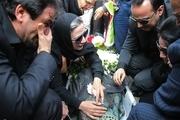 فلورا سام و دخترش در مراسم تشییع پیکر مجید اوجی+ تصاویر