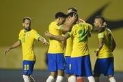 پیروزی برزیل برابر اکوادور با درخشش نیمار