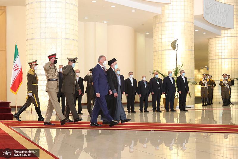 دیدار رئیسی و نخست وزیر عراق