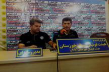 مربی تیم استقلال خوزستان:تماشاچیان برنده داربی خوزستان بودند