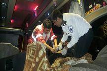 حادثه رانندگی در آزادراه پل زال  هفت مجروح بر جا گذاشت