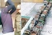 سارق موتورهای کولر در کاشمر دستگیر شد