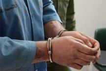 سارق موتور سیکلت در بوشهر دستگیر شد
