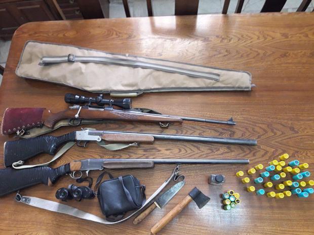 دستگیری 3 نفر شکارچی متخلف در دامغان