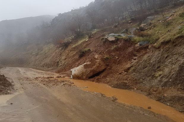 بارندگی بیش از 98 میلیارد ریال به حوزه راه اندیمشک خسارت زد
