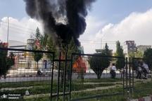 انفجار در خودروی کارمندان دولتی افغانستان+ تصاویر