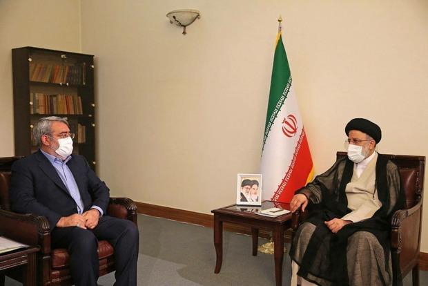 سه وزیر و دو عضو دولت به دیدار رییسی رفتند