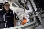 پرتاب ۲ مانکن با جلیقه ضد اشعه به ماه