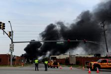 سلسله آتش سوزی وانفجارهای مشکوک در آمریکا: انفجار قدرتمند در بالتیمور