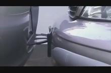 ایده ای جالب برای جلوگیری از صدمه به سپر ماشین هنگام پارک کردن