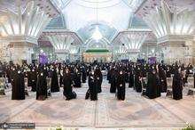 مراسم سالروز میلاد حضرت زهرا(س) و امام خمینی(ره) در حرم بنیانگذار جمهوری اسلامی ایران