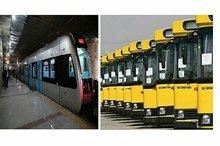 افزایش خطوط فعال اتوبوسرانی مشهد  تمدید تعطیلی مترو تا عید فطر
