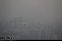 تداوم آلودگی هوای تبریز برای هشتمین روز