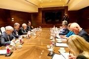 دیدار ظریف با وزیر خارجه استونی