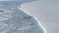 این کوه یخ در سه سال 1000کیلومتر جابه جا شده است!