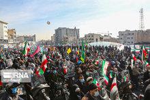 راهپیمایی 22 بهمن در تهران -1