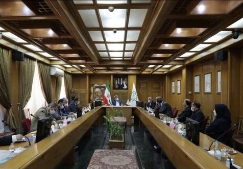 دیدار صالحی امیری و مسئولان فدراسیون ناشنوایان با شهردار تهران