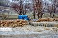 راه ارتباطی ۲۸ روستای چهارمحال و بختیاریبر اثر بارندگی بسته شد