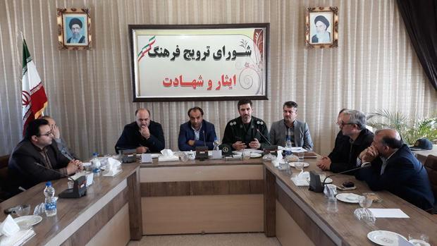 اعزام 150 نفر از بسیجیان نمین به مناطق عملیاتی