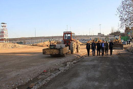 احداث خیابان اردیبهشت  اصفهان تا پایان سال جاری راه اندازی BRT مسجد سید