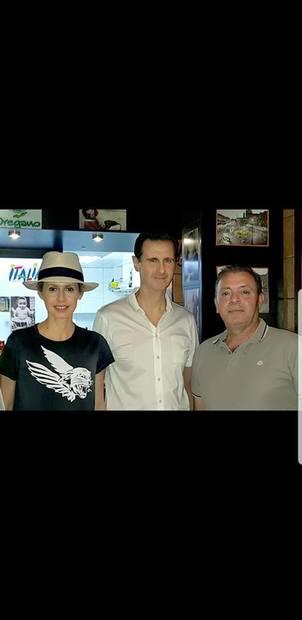 حضور غیرمنتظره بشار اسد و خانواده اش در غرب دمشق+تصاویر