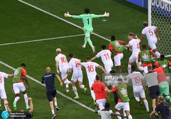 یورو ۲۰۲۰ شب شگفتی یک هشتم نهایی