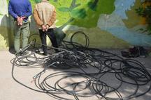 سرقت کابل سبب قطع برخی خطوط تلفن در نیشابور شده است