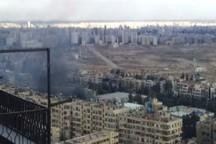 انفجار یک خودروی بمب گذاری شده در دمشق
