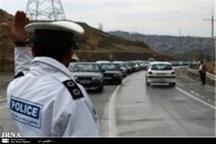 ترافیک در ورودیهای شهر مشهد متراکم  است