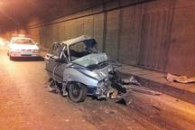 تصادف در کهگیلویه و بویراحمد 6 مصدوم بر جا گذاشت