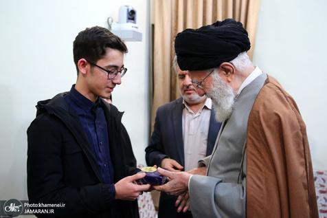 حرف های آرین غلامی درباره دیدار با رهبر انقلاب و سردار سلیمانی+ ویدیو