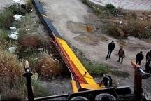 یک کارگر ساختمانی در حادثه واژگونی جرثقیل در جهرم فوت کرد