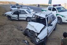 تصادف در قوچان هشت نفر را روانه بیمارستان کرد