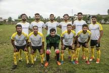 تیم فوتبال مقاومت آستارا بر ملوان جوان رشت غلبه کرد