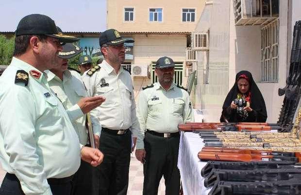 331 نفر از عاملان تیراندازی غیرمجاز در خوزستان دستگیر شدند