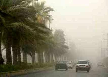 سرعت وزش باد در سیستان به ۱۰۱ کیلومتر بر ساعت رسید