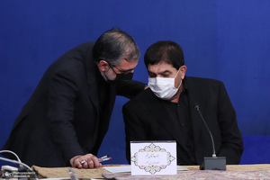 جلسه ستاد ملی مقابله با کرونا-23 مرداد 1400 - مخبر اسماعیلی
