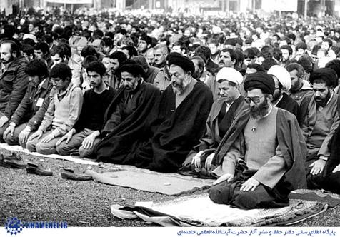 روزی که آیت الله خامنه ای امام جمعه تهران شد