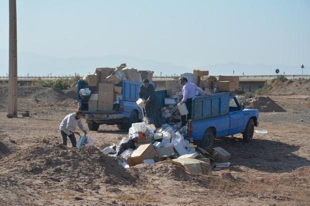 61 تن مواد غذایی فاسد در شهرستان ری معدوم شد