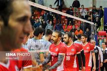 شکست دوباره شهرداری تبریز در لیگ برتر والیبال