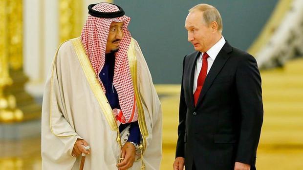 توافق پوتین و پادشاه سعودی بر توسعه روابط متقابل تجاری
