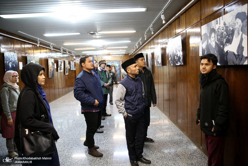 بازدید گردشگران خارجی از جماران