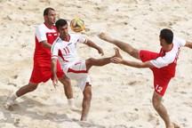 تیم فوتبال ساحلی گلساپوش یزد از پارس جنوبی بوشهر شکست خورد